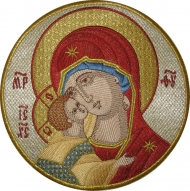 Вышитые иконы. Кресты для облачений