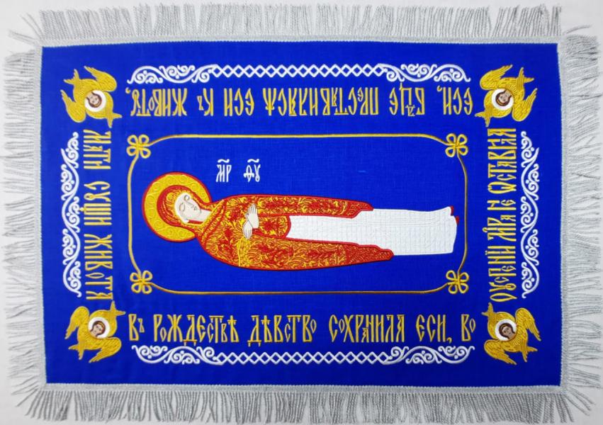 Плащаница Успение Пресвятой Богородицы (малая)