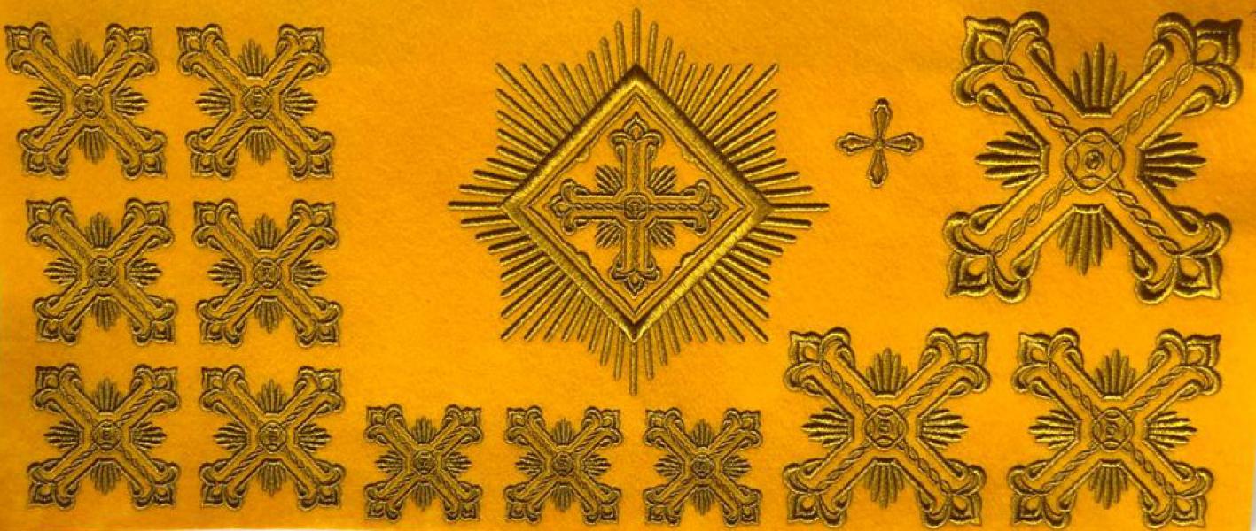 Набор крестов для иерейского облачения