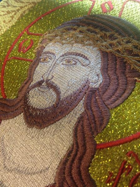 Купить вышитую икону Христос в терновом венце