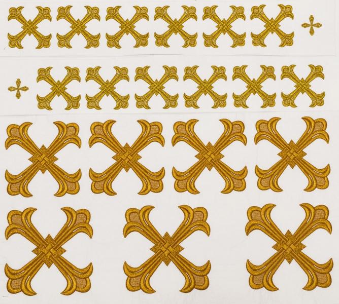 Кресты для облачений