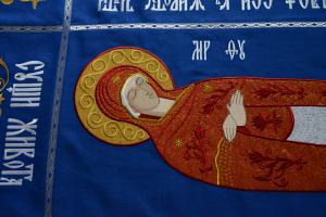 Плащаница Успение Пресвятой Богородицы